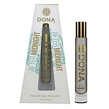 Духи с роликовым нанесением DONA Roll-On Perfume - After Midnight (10 мл), вариант для сумочки