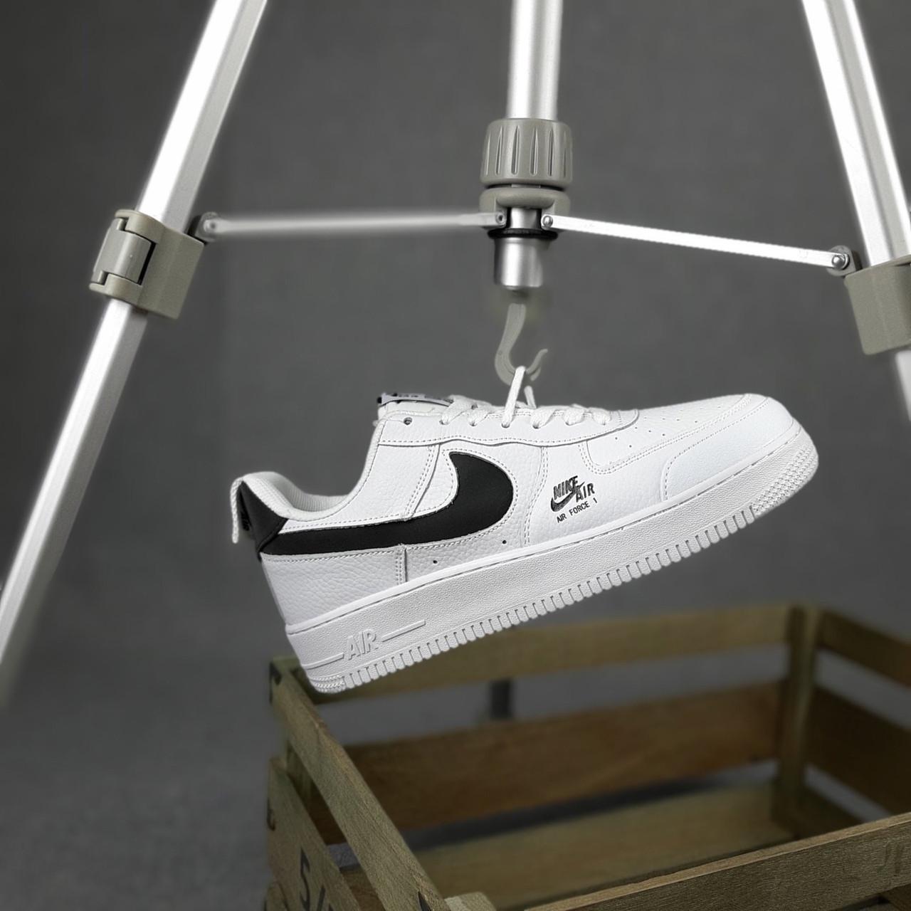 """Кроссовки Nike Air Force 1 """"Белые/Черные"""""""