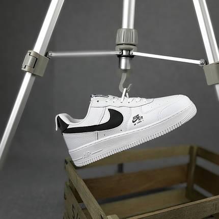 """Кроссовки Nike Air Force 1 """"Белые/Черные"""", фото 2"""