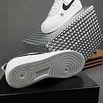 """Кроссовки Nike Air Force 1 """"Белые/Черные"""", фото 3"""