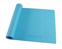 Коврик, мат для йоги и фитнеса SportVida Pvc 6 мм SV-HK0053 Sky Blue SKL41-227081