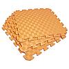 Татами 50х50х1см Оранжевый (коврик-пазл ласточкин хвост) IZOLON EVA SPORT