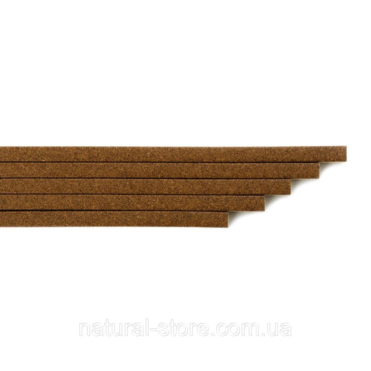 Корковий поріжок (компенсатор) RG 107 Світлий горіх 900х15х7мм