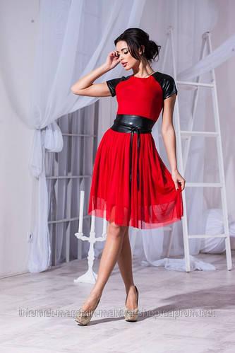Женское платье сетка три расцветки