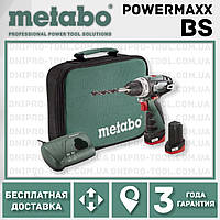 Аккумуляторная дрель-шуруповерт Metabo PowerMaxx BS
