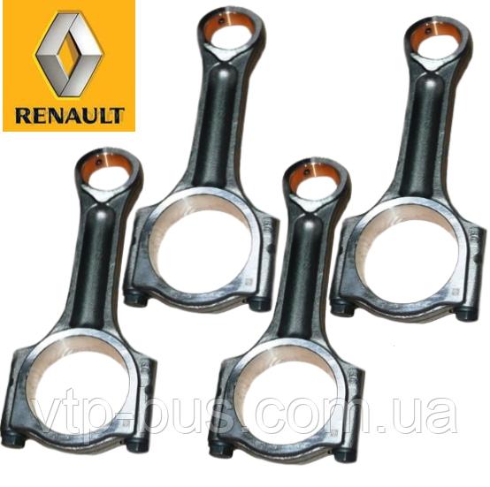 Шатуны (4 шт) на Renault Trafic / Opel Vivaro 2.0dCi (2006-2014) Renault (оригинал) 7701477831