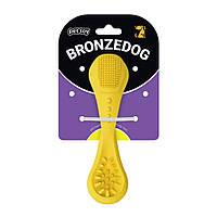Іграшка для собак Bronzedog Dental ложка з ароматом ванілі 15см