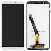Дисплей (LCD) Huawei P Smart (2017)   Enjoy 7s   FIG-LX1   FIG-L21   FIG-L31 с тачскрином, белый, оригинал