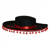 Шляпа Мексиканца (черная)