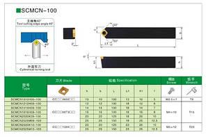SCMCN1212H09 Різець прохідний (державка токарна прохідна), фото 2