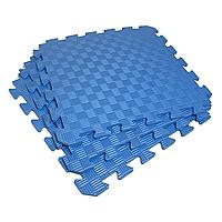 Татами 50х50х1см Синий (коврик-пазл ласточкин хвост) IZOLON EVA SPORT, фото 1