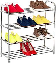 Полка для обуви Tatkraft Good из нержавеющей стали 65*24*64 см 10185