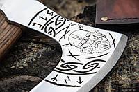 Кована сокира ручної роботи оригінальній подарунок чоловіку, фото 1