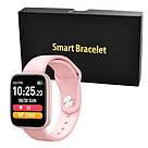 Фитнес-браслет Apl band T85 Big tuch screen, Smart band, смарт часы с большим экраном цвет розовый, фото 3