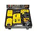Акумуляторний шуруповерт DeWALT DCD771 (24V, 5AH) з набором інструментів, фото 3