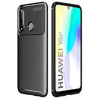Чехол Carbon Case для Huawei Y6p Black