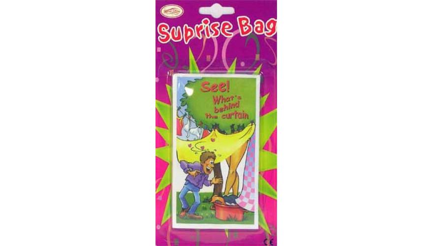 Взрослый прикол ( surprise bag / пакет с сюрпризом ) прикольные подарки оригинальные необычные смешные для