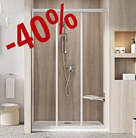 Душові двері Ravak ASDP 3-100 сатин/transparent