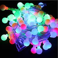 Гирлянда светодиодная, шарики