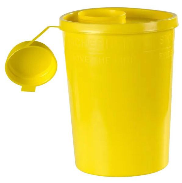 Ящик с иглами 2,5 л желтый