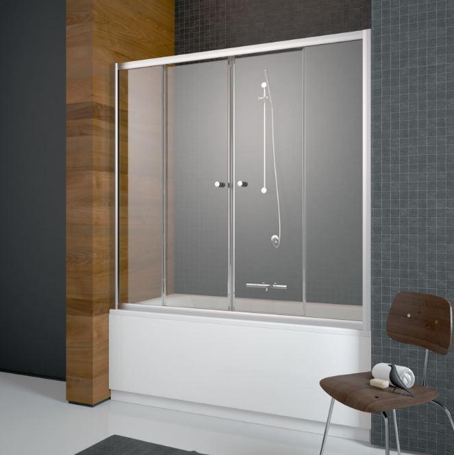 Душевые экраны Radaway Шторка для ванны Radaway Vesta DWD 180 см 203180-01