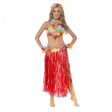 Карнавальний костюм, Гавайська (червоний)