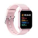 Фитнес-браслет Apl band T96, Smart band, смарт часы цвет розовый, фото 2