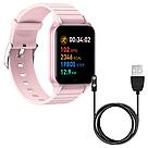 Фитнес-браслет Apl band T96, Smart band, смарт часы цвет розовый, фото 5