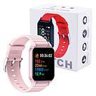 Фитнес-браслет Apl band T96, Smart band, смарт часы цвет розовый, фото 6