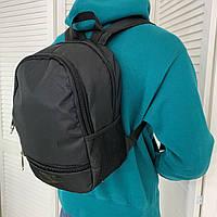 Мужской спортивный рюкзак Nike Найк городской портфель черный небольшой