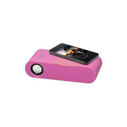 Беспроводная индукционная колонка AEG LBI 4719 (розовая) Бренды Европы, фото 2