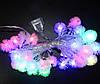 Гирлянда 28 M LED цветы,шары,звездочки в ассортименте