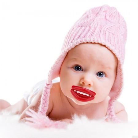 Соска з губками Лялечка #2 прикольні подарунки оригінальні незвичайні смішні для кожного