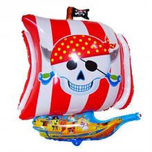 Повітряні кулі і кульки для свята надувні (60см) Пірати