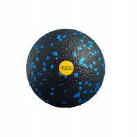 Массажный мяч 4FIZJO Epp Ball 08 4FJ1257 Black-Blue SKL41-227491