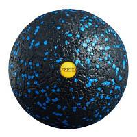 Массажный мяч 4FIZJO Epp Ball 12 4FJ1288 Black-Blue SKL41-227494