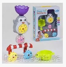 """Іграшка для ванної Водоспад """"Пингвинчик"""" YS 673 на присоску, в коробці"""