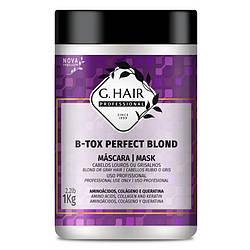 Ботекс для волосся Джихеір Ідеальний Блонд, GHAIR B-tox Perfect Blond