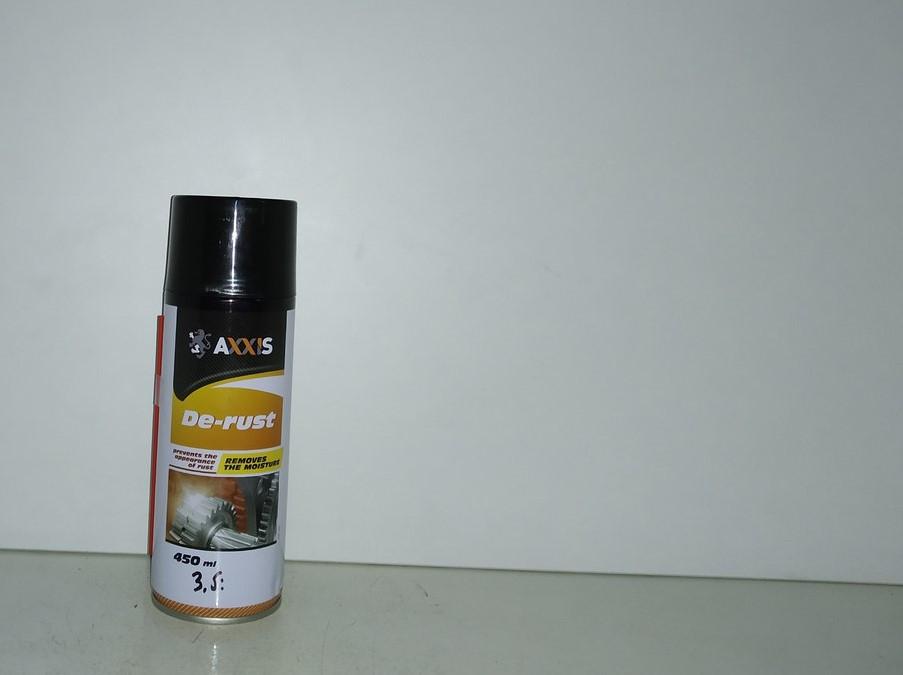 Смазка проникающая универсальная (аналог WD-40) 450ml Axxis