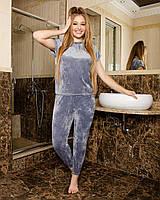 Піжама жіноча, домашній костюм Сірий, фото 1