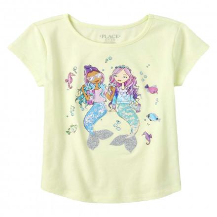 Дитяча футболка з стрейч кулира