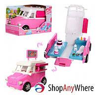 Машинка для куклы Магазин-Кондитерская, трансформируется, с аксессуарами, К899-51 от 3 лет, Подарок для