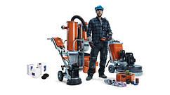 Шлифмашины, оборудование для шлифовки и полировки бетона, других напольных покрытий