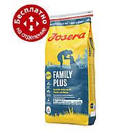 Josera Family Plus 15кг - корм для цуценят і вагітних і годуючих сук
