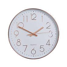 Декоративные настенные часы красивые сувенирные для дома большие в гостинницу 30,5 см (2005-028)