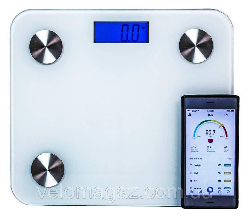 Цифровые напольные SMART-BLUETOOTH весы (возможность мобильного приложения)