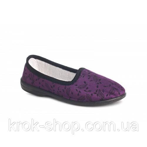 Тапочки женские (фиолет) Литма оптом