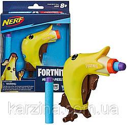 Бластер Нёрф Фортнайт банан NERF MicroShots Fortnite Micro Peely