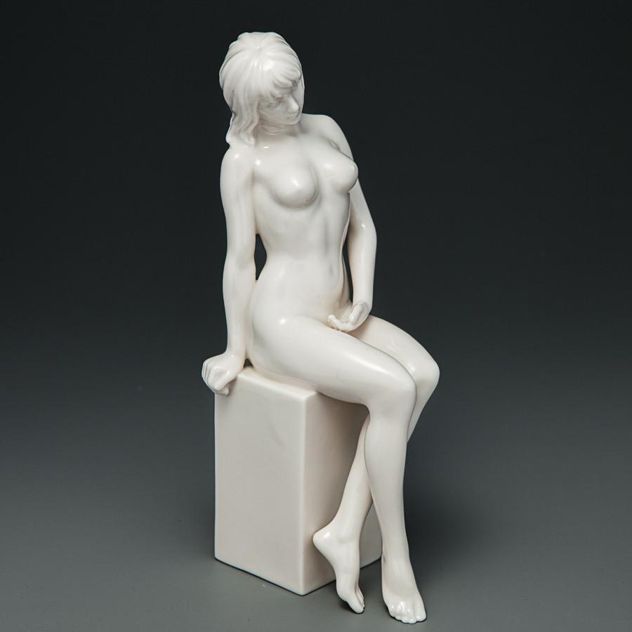 """Статуетка""""Оголена дівчина"""" (19 см) (30109AB)"""