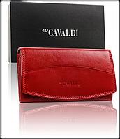 Гаманець жіночий Cavaldi натуральна шкіра Польща код 300 червоний, фото 1